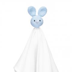 Snuggle bunny security blanket XL blue