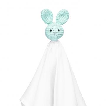 Snuggle bunny security blanket XL mint