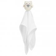 Snuggle toy Owl -  cream