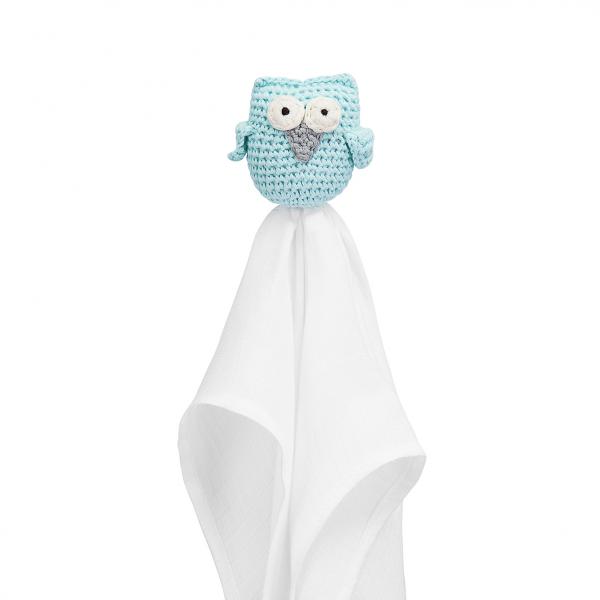 Snuggle owl security blanket XL Mint