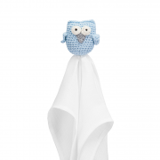 Snuggle owl security blanket XL Blue