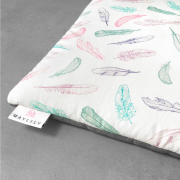 Bamboo play mat - Paradise feathers