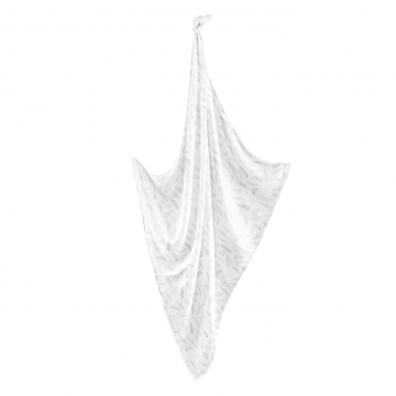 Anti-mosquito swaddle Silver feathers