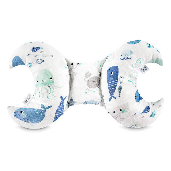 Bamboo antishake pillow Sea friends