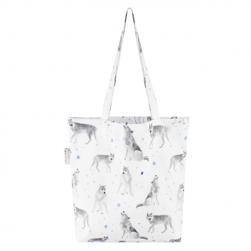 Tote bag Star wolves