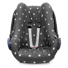 Bamboo car seat cover - Stars