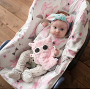 Bamboo car seat cover Fawns