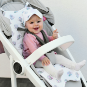 Bamboo stroller pad Heavenly birds