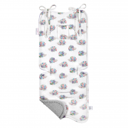 Bamboo stroller pad Hedgehogs girls