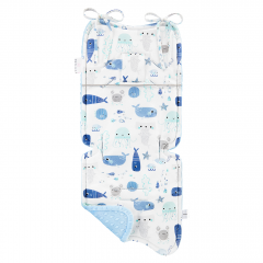 Bamboo stroller pad Sea friends