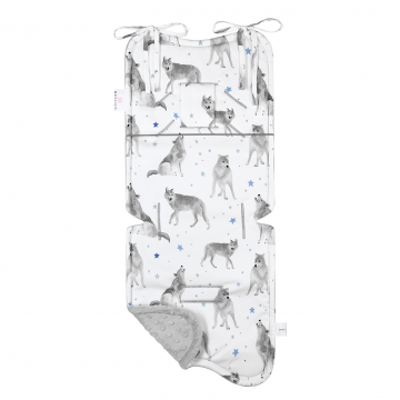 Bamboo stroller pad Star wolves