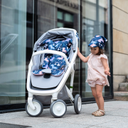 Bamboo stroller pad Planes