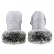 Stroller gloves Light grey