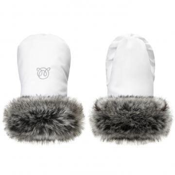 Stroller gloves White
