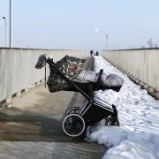 Mufka zimowa SNØ grafit