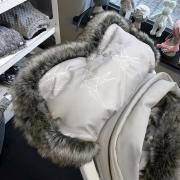Mufka zimowa SNØ biały