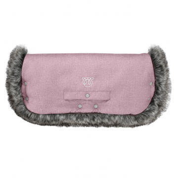 Stroller muff Dusty rose