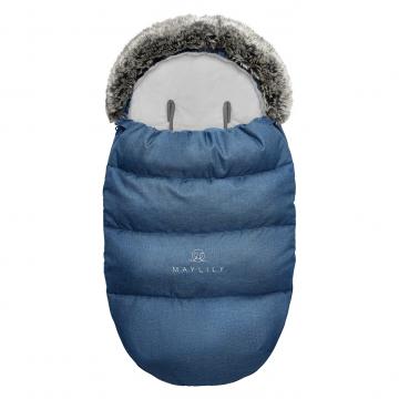 Stroller sleeping bag SNØ 0-24 mo Navy blue