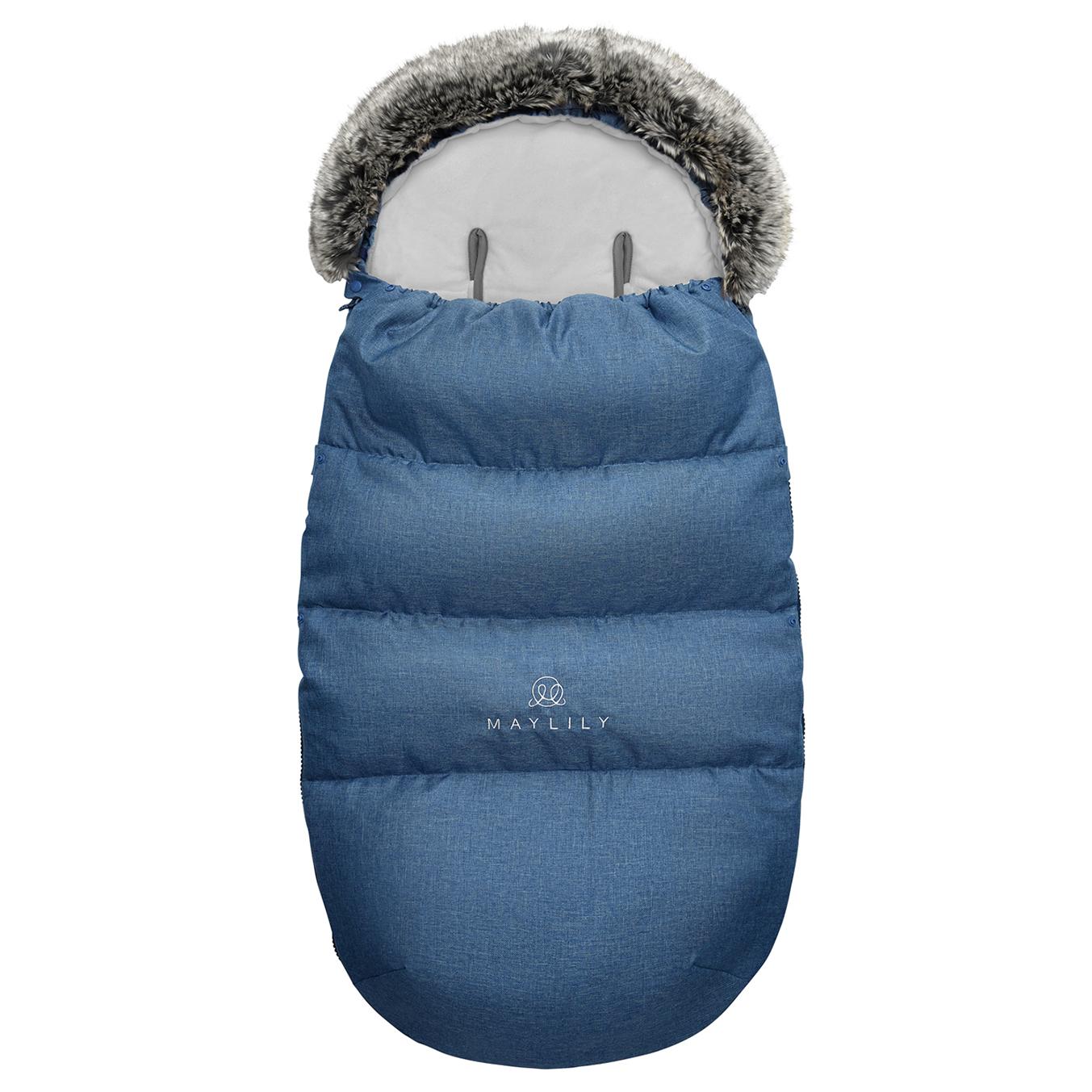 Śpiworek zimowy SNØ 12-48 mcy granat