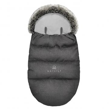 Stroller sleeping bag SNØ 0-24 mo Graphite