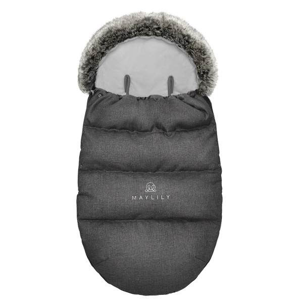 Stroller sleeping bag SNØ 0-24 mo Graphite