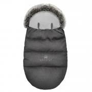 Winter stroller sleeping bagSNØ 0-2 yo - graphite