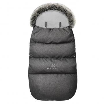 Stroller sleeping bag SNØ 12-48 mo Graphite