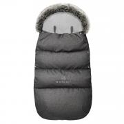 Winter stroller sleeping bagSNØ 1-4 yo - graphite