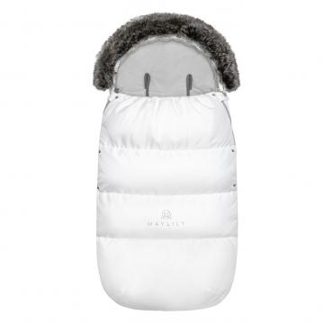 Śpiworek zimowy SNØ 12-48 mcy biały
