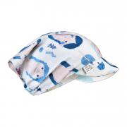 Bamboo visor scarf with elastic - Trolls
