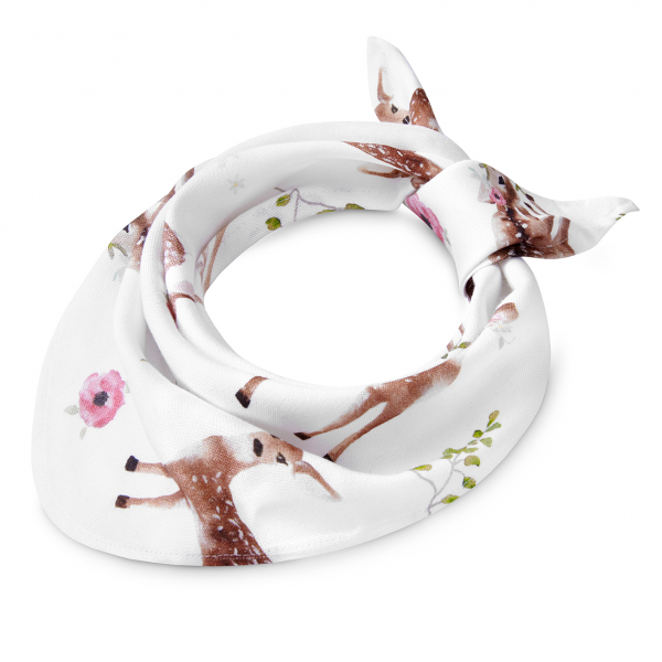 Bamboo triangle scarf Fawns