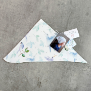 Bamboo triangle scarf Planes