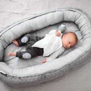 Premium Baby nest Fawns Silver