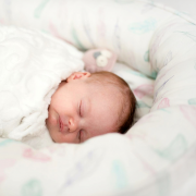 Baby nest Luxe Fawns white