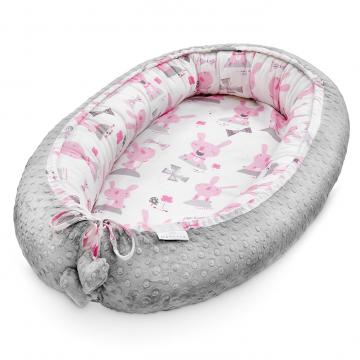 Premium Baby nest Bunnies Silver