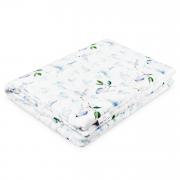 Warm bamboo blanket Luxe XL Heavenly birds White