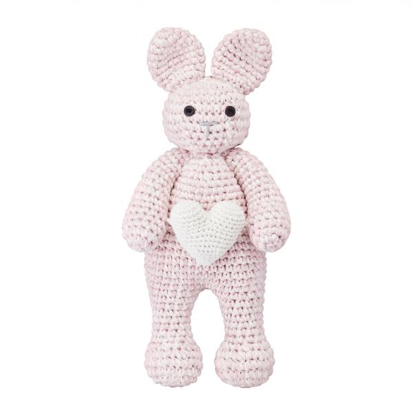 Bunny friend Love Dusty pink