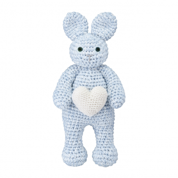 Bunny friend Love Light blue