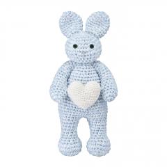 Bunny friend love - light blue