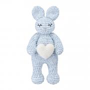 Bunny friend Love Light blue