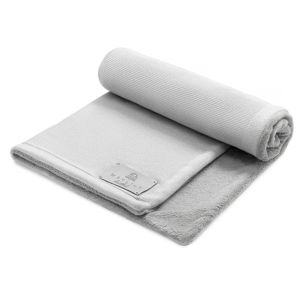 Bamboolove Winter blanket Silver