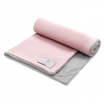 Bamboolove Winter blanket Blush pink