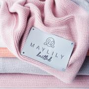 Bamboolove Winter blanket Blush pink