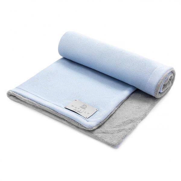 Bamboolove Winter blanket XL Light blue