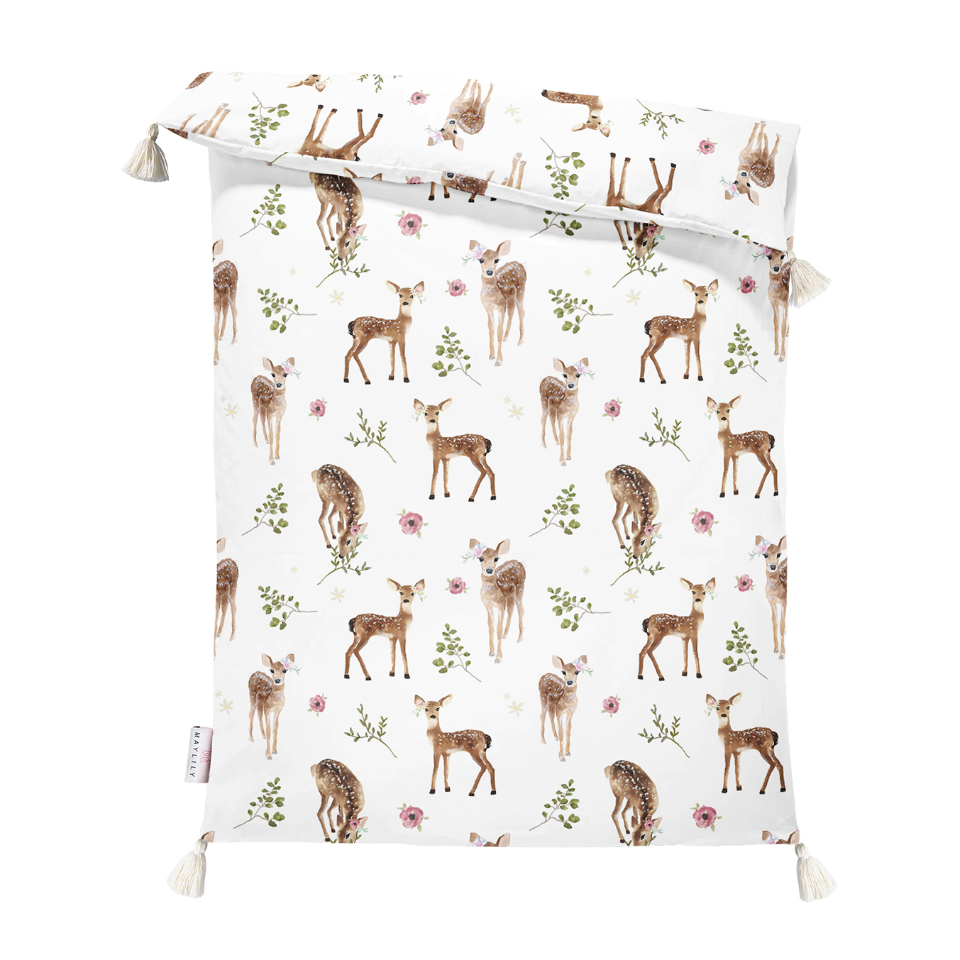 Double bamboo quilt M Fawns