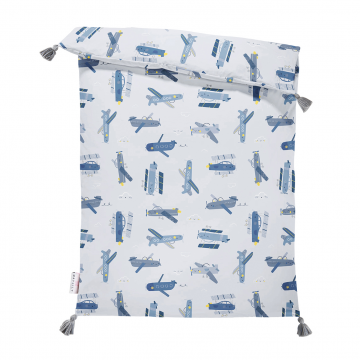 Double bamboo duvet M Planes