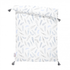 Double bamboo duvet L - Heavenly feathers