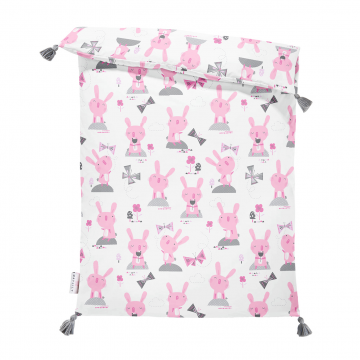 Double bamboo duvet M Bunnies