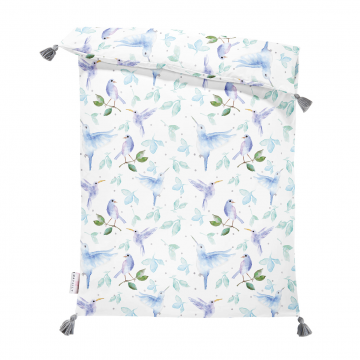 Double bamboo duvet M Heavenly birds