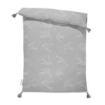 Double bamboo duvet M Swallows
